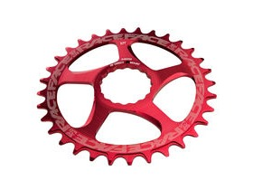 RaceFace Direct Mount Narrow/Wide Single Chainring Red