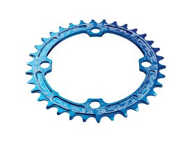RaceFace Narrow/Wide Single Chainring Blue 104x34T