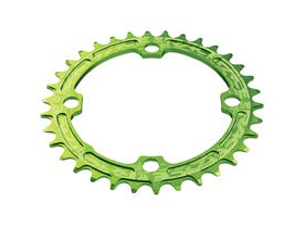 RaceFace Narrow/Wide Single Chainring Green 104x34T