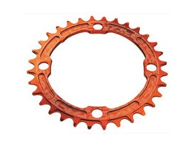 RaceFace Narrow/Wide Single Chainring Orange 104x34T