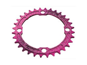 RaceFace Narrow/Wide Single Chainring Purple 104x38T