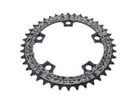 RaceFace Narrow/Wide Single Chainring Black 110x38T