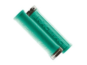 RaceFace Half Nelson Lock On Grips Turquoise