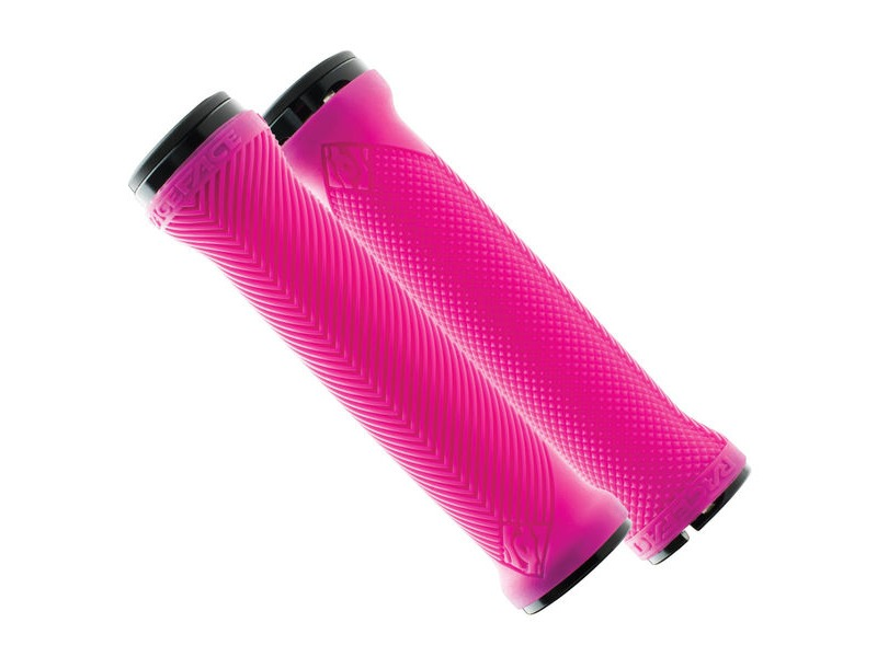 RaceFace Love Handle Grips Neon Pink click to zoom image