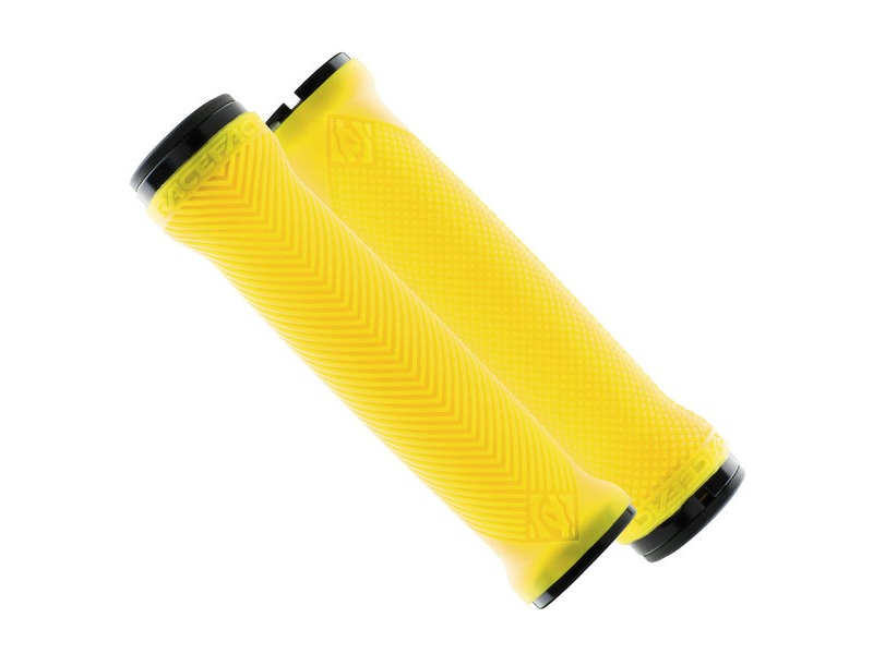 RaceFace Love Handle Grips Neon Yellow click to zoom image