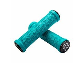 RaceFace Grippler Lock-on Grips Turquoise