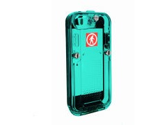 Outdoor Tech Safe 5 iPhone 5 IPX-7 Waterproof Case  Aqua  click to zoom image
