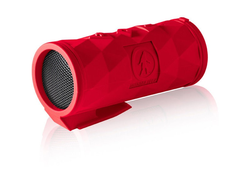 Outdoor Tech Buckshot 2.0 Mini Wireless Speaker Red click to zoom image