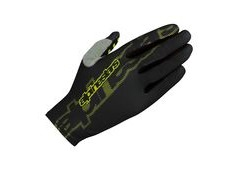 Alpinestars F-Lite Glove 3X-Large Black/Acid Yellow  click to zoom image