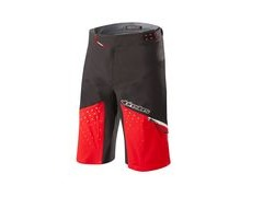 Alpinestars Drop Pro Shorts 28 Black/Red  click to zoom image