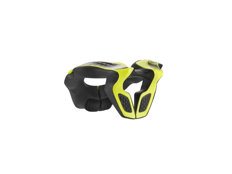 Alpinestars Youth Neck Support 2019 Black Yellow Fluo One Size click to zoom image