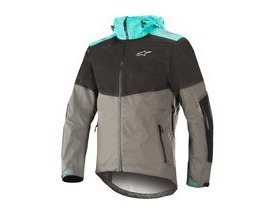 Alpinestars Tahoe Wp Jacket 2018: Black Dark Shadow Ceramic