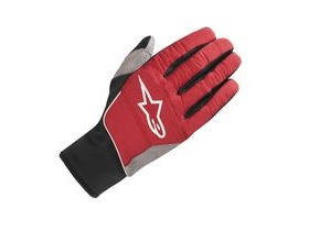 Alpinestars Cascade Warm Tech Glove 2018: Rio Red Black