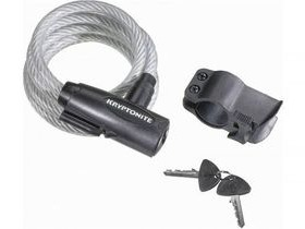 Kryptonite Keeper value key bike cable lock with bracket