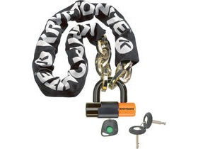 Kryptonite New York chain with series 4 disc lock 3 ft 3 in