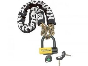 Kryptonite New York Fahgettaboudit chain and padlock 100 cm
