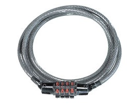 Kryptonite CC4 combination cable lock (5 mm x 120 cm)