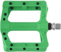 Nukeproof Neutron EVO (Electron EVO) Flat Pedals  Grass Green  click to zoom image