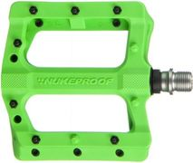 Nukeproof Neutron EVO (Electron EVO) Flat Pedals  Green  click to zoom image