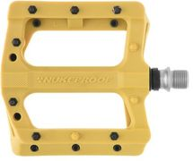 Nukeproof Neutron EVO (Electron EVO) Flat Pedals  Mustard  click to zoom image