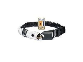 Hiplok Gold Wearable Chain Lock 10mm X 85cm - Waist 24-44 Inches (Gold Sold Secure) High Visibility Hi-viz