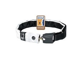 Hiplok Lite Wearable Chain Lock 6mm X 75cm - Waist 24-44 Inches (Bronze Sold Secure) Hi-viz