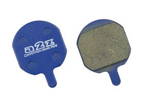 A2Z Fastop Hayes MX-2/3/QMD-6 Disc Pads Blue Organic