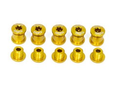 A2Z Chainring Bolts 5 arm Gold  click to zoom image