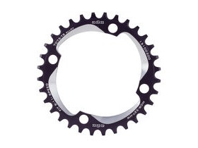 A2Z Narrow Wide Chainring Black