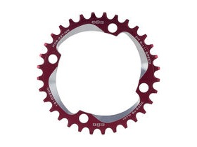 A2Z Narrow Wide Chainring Red