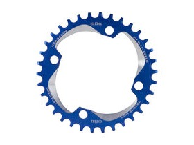 A2Z Narrow Wide Chainring Blue