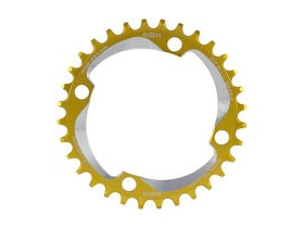 A2Z Narrow Wide Chainring Gold