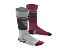 Dainese HG Riding Socks Grey, Red, Blue