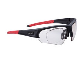 BBB Select Optic PH Sport Glasses Matte Black, Red Tip, PH Lens