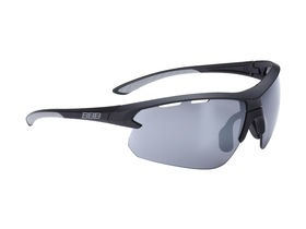 BBB Impulse Sport Glasses Matte Black, Grey Tip, Smoke Lens