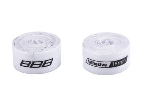 BBB Rimtape HP Adhesive 2m White 2pcs 18mm