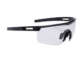 BBB Avenger Photochromic Sport Glasses Black, Black Tips, Photochromic Lenses