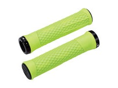 BBB Phyton Grips Neon Yellow, Black Lockring