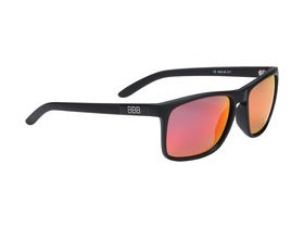 BBB Town Polarized Sunglasses Black, Red Lenses