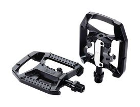 BBB DualChoice Two Function Clipless & Flat MTB Pedals