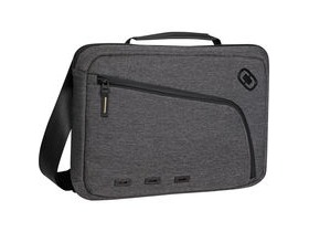 Ogio Newt Slim 13 Inch Messenger Sleeve Dark Static