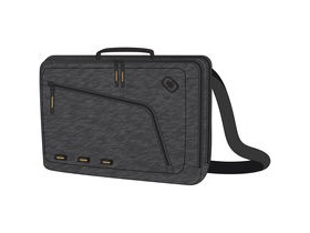 Ogio Newt Slim 15 Inch Messenger Sleeve Dark Static