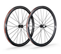 Vision SC 40 Disc Carbon Road Wheelset Clincher Tubeless Ready, Shimano 11