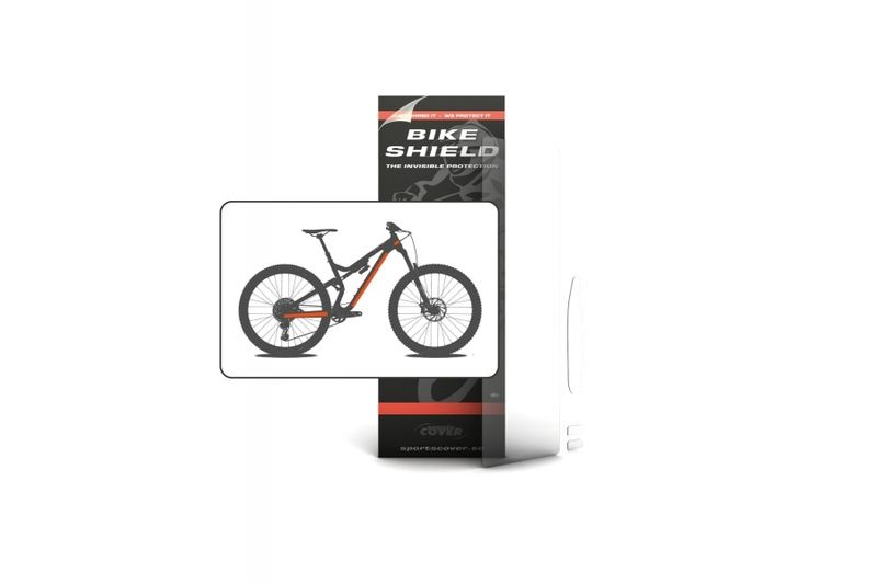 Bike Shield Half Pack Matte click to zoom image