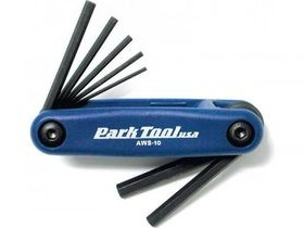 Park Tool Fold-up Hex wrench set: 3 to 6, 8 & 10 mm