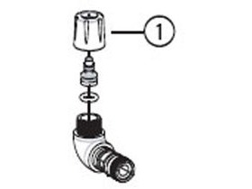 Park Tool 1082 head / hose compression fitting PFP3