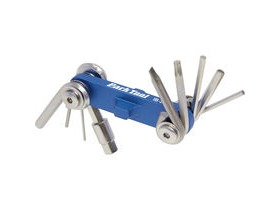 Park Tool Ib2C Ibeam Mini Foldup Hex Wrench Screwdriver And Star Shaped Wrench Set