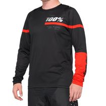 100% R-Core Jersey Black / Red