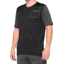 100% Ridecamp Jersey Charcoal / Black