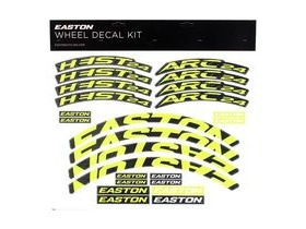 Easton Arc/Heist Wheel Decal Kit Yellow